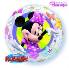 Disney Minnie Mouse Bow-Tique Bubble Balloon